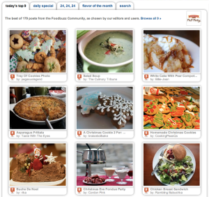 Foodbuzz today's top 9