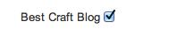 Best Craft Blog